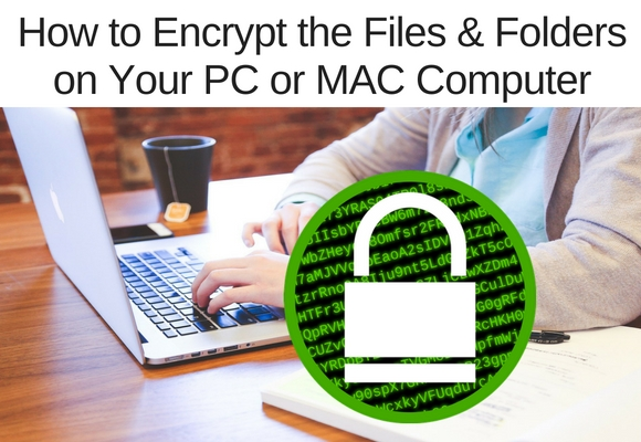 Encryption is a process of password protecting that scrambles the content making it useless to anyone who doesn't have the password to unlock the item. In this video learn how to encrypt any file or folder on your computer.